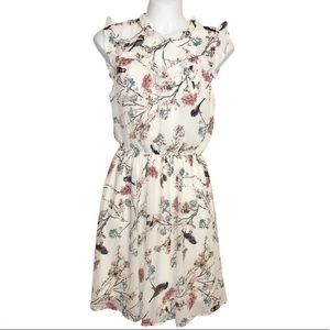 MONTEAU Floral Off-White Dress